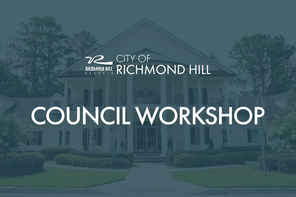 City Council Workshop
