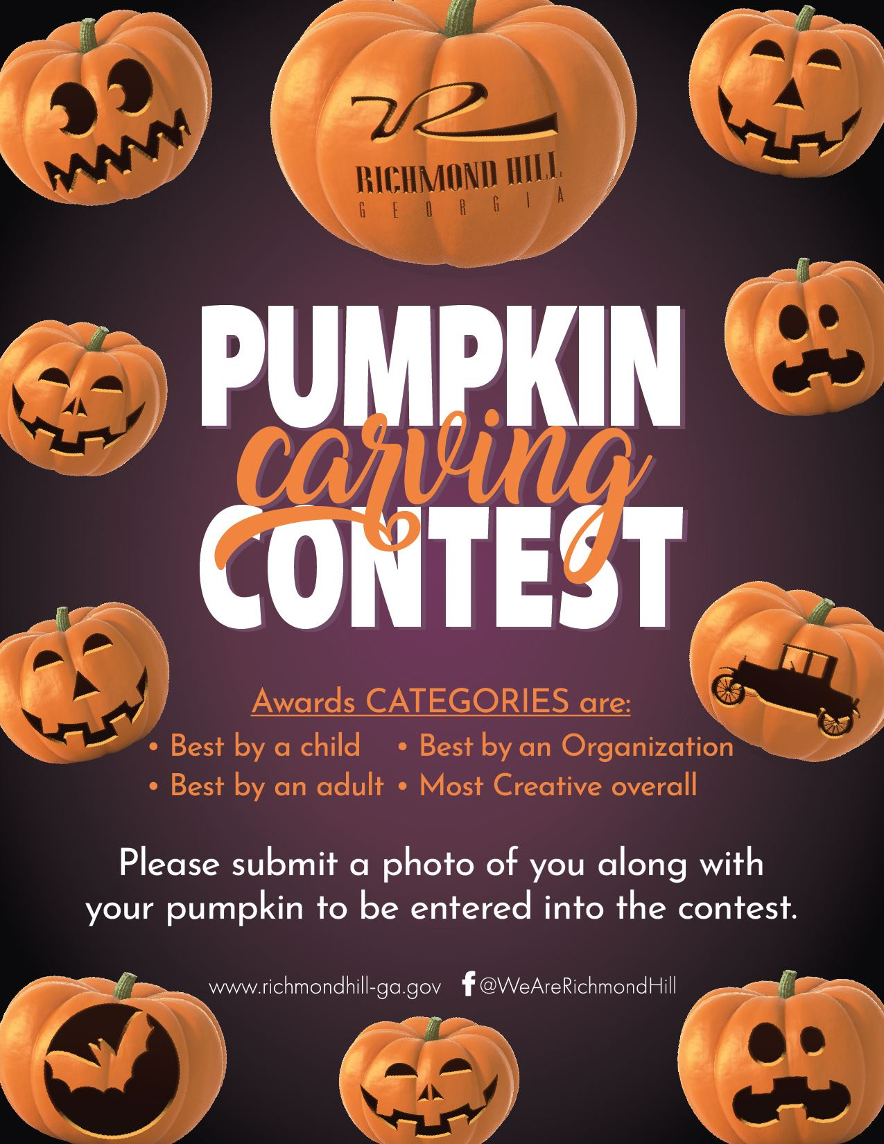 2020 Pumpkin Carving Contest Flyer V2-01