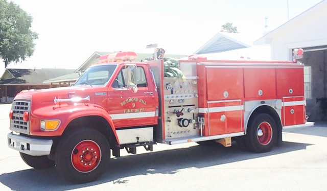 1995 E-One 1250 GPM Pumper