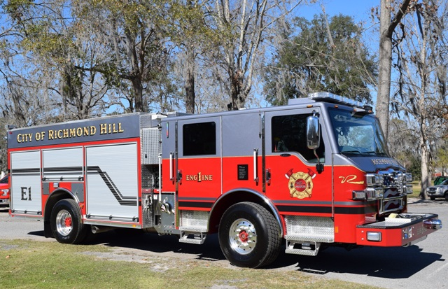 2016 Pierce Impel Pumper fire truck