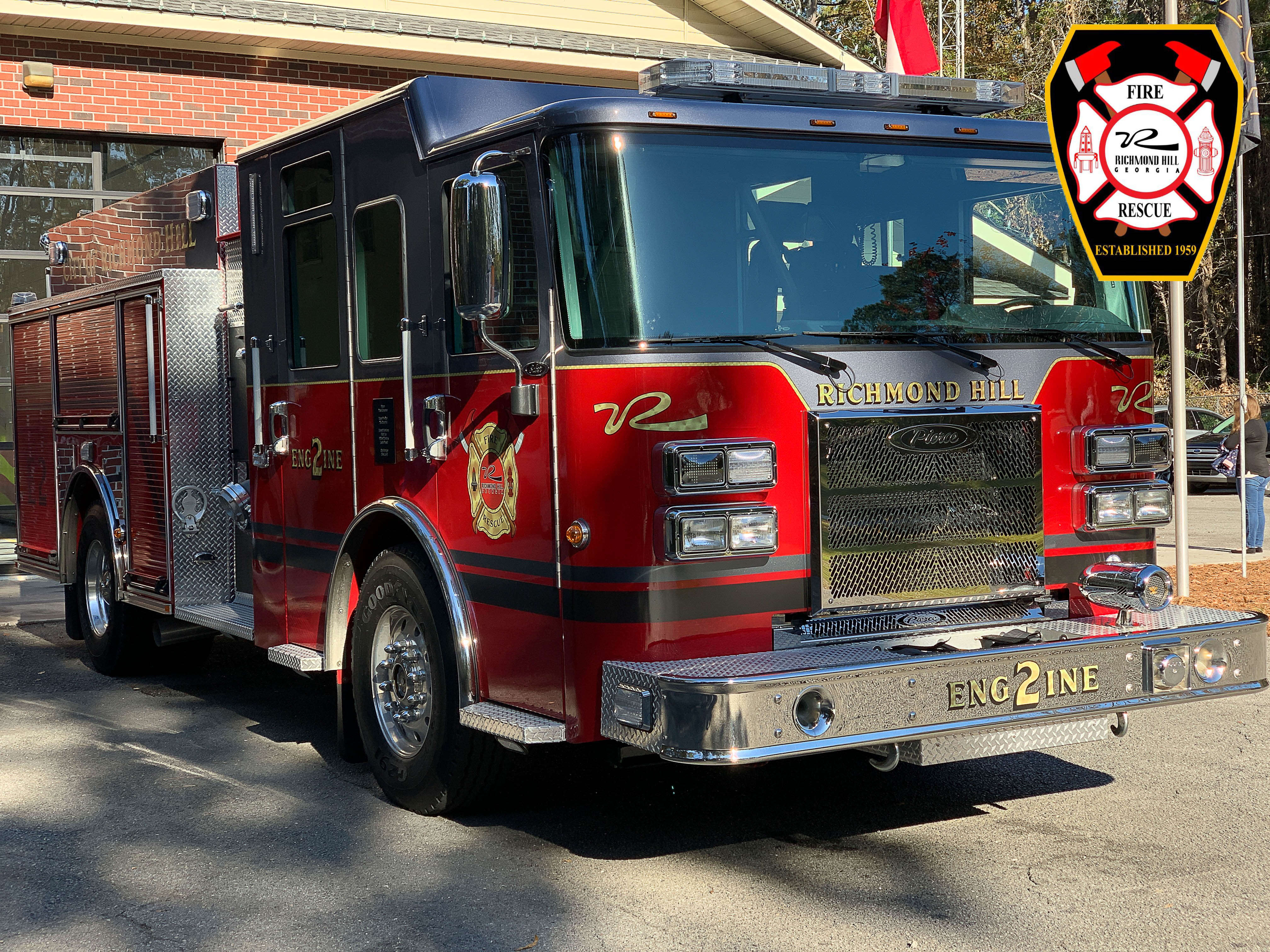 2018 Pierce Saber Fire Truck